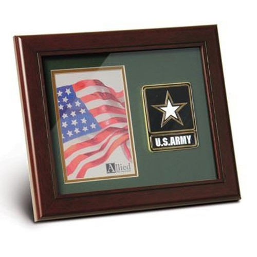 Frame, Picture, Service Medallion, 8in x 10in, Medallion8x10Service