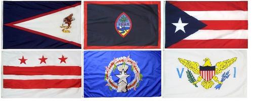 Complete Set of US Territories