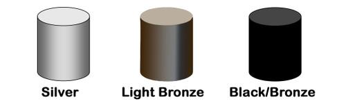 Titan Top Cap Set Light Bronze, 109-0162