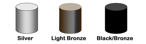 Titan Top Cap Set Bronze/Black, 109-0161