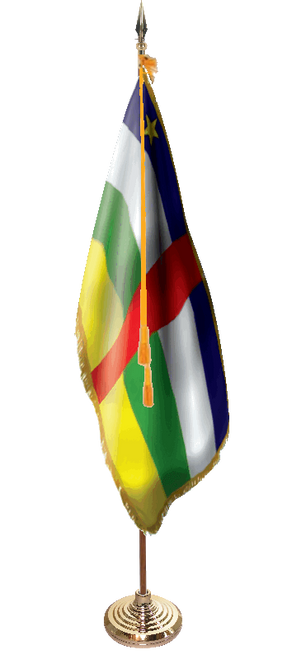 Deluxe Central African Republic Presentation Set