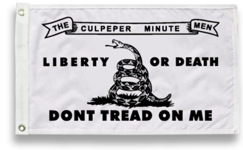 Culpeper Flag, Don't Tread on Me Flag