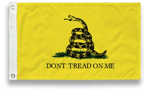 Gadsden Flag, Don't Tread on Me Flag