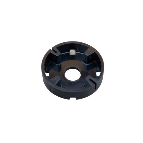 "Base Cap (Black Disc) - 2.5"", 109-0101"