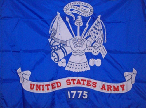 US Army Field Flag, Applique Detail