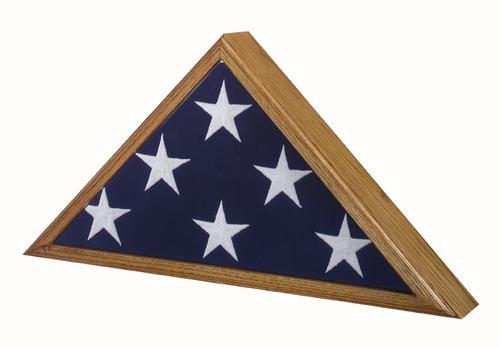Capitol Flag Case in Vintage Oak