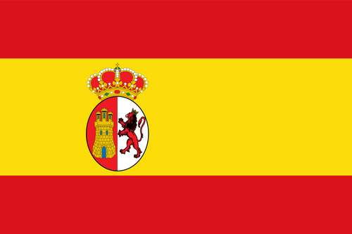 Texas Under Spain Flag