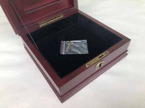 Medallion Desktop Box with EMS Seal