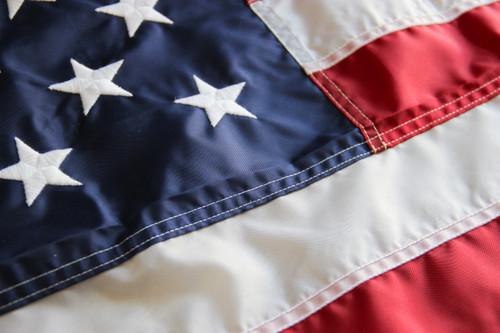 American Flag, Nylon, 12ft x 18ft, USNY-12X18