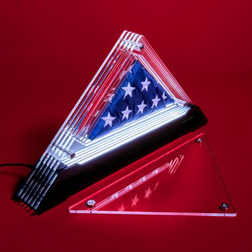 Living Patriot Freedom 23 Prism for 2' x 3' Nylon Flag w/ Sewn Stars