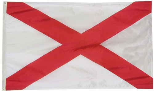 US State of Alabama Flag, Extra Tough, 3ft X 5ft, ALET3X5