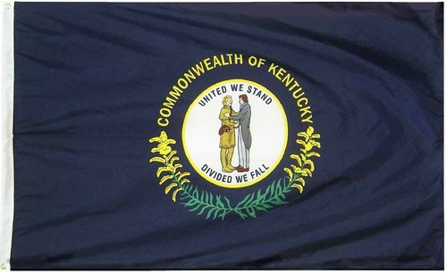 US State of Kentucky Flag, Extra Tough, 5ft X 8ft, KYET5X8