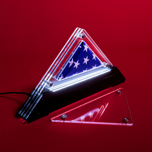 "Living Patriot Freedom 16 Prism (for a 16""x24"" printed flag)"