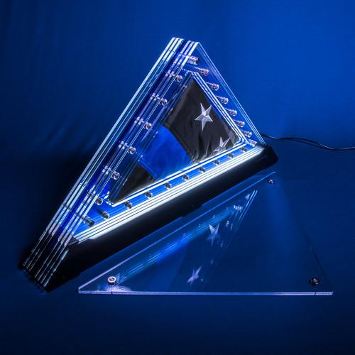 Living Patriot Thin Blue Line 35 Prism (for a 3'x5' nylon flag)