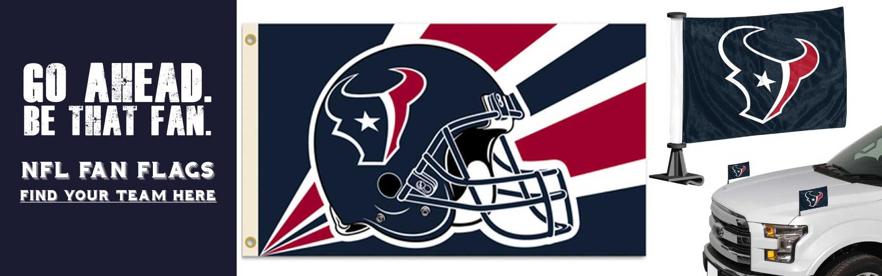 NFL Fan Flags