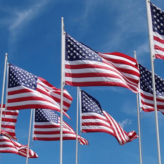 Outdoor US Flags