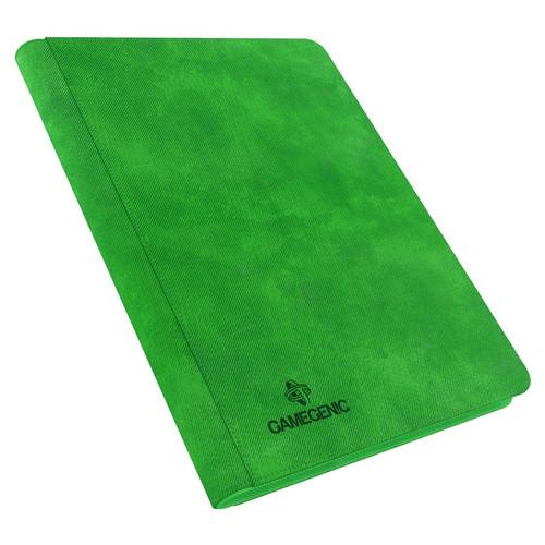 Card Binders: Green Zip-Up Album 18-Pocket