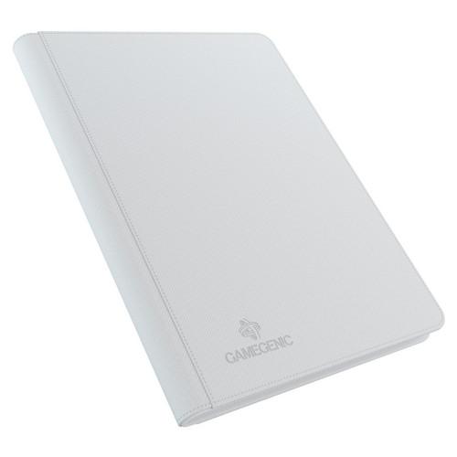 Card Binders: White Zip-Up Album 18-Pocket