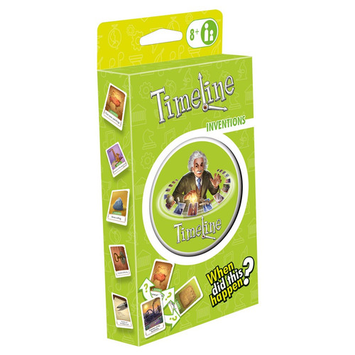 Card Games: Staff Recommendations - Timeline : Inventions (Eco-Blister)