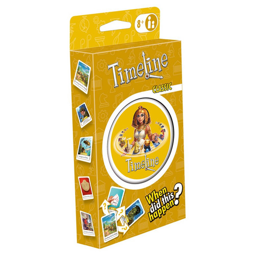 Card Games: Timeline : Classic (Eco-Blister)