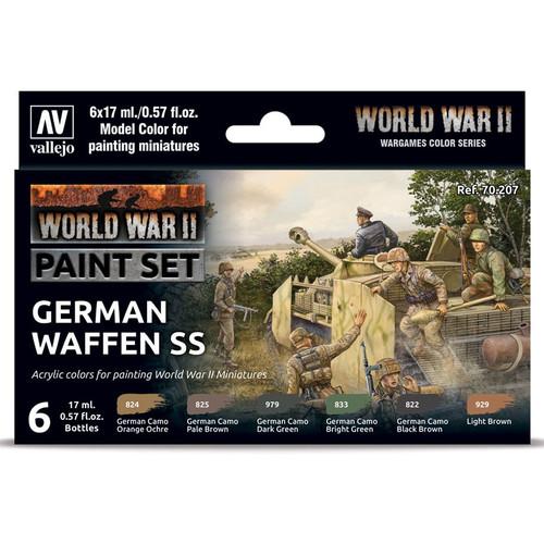 Paint: Vallejo - MC: WWII: Set: German Waffen SS