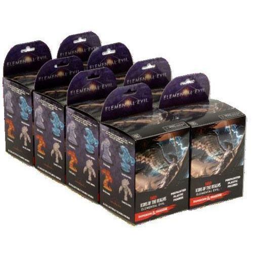 RPG Miniatures: Mini Blind Boxes and Bricks - Icons of the Realms: Booster Brick - Elemental Evil