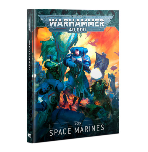 Warhammer 40K: Space Marines - Codex: Space Marines