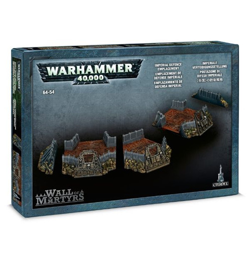 Warhammer 40K: Terrain / Scenery - Wall of Martyrs Imperial Defence Emplacement