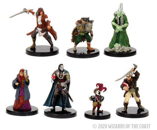 RPG Miniatures: Miniature Sets - D&D Minis: Curse Of Strahd Legends Of Barovia Premium Box Set - Icons Of The Realms