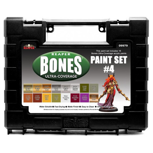 MSP: Bones Ultra Coverage Paint Set #4