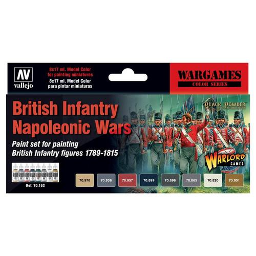 Paint: Vallejo - Paint Sets MC: WG: British Infantry Napoleonic Wars