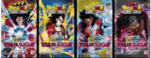 DragonBall Super: Boosters and Booster Boxes - DBS: Vermilion Bloodline Booster - Unison Warriors Set 2