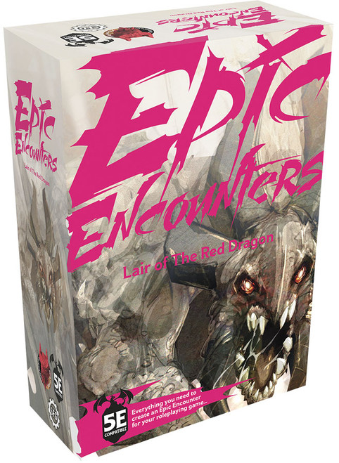 RPG Miniatures: Monsters and Enemies - Epic Encounters: Lair of the Red Dragon