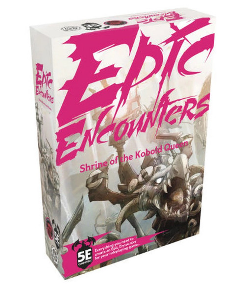 RPG Miniatures: Monsters and Enemies - Epic Encounters: Shrine of the Kobold