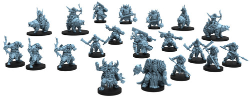 (Preorder) RPG Miniatures: Monsters and Enemies - Epic Encounters: Halls of the Orc King