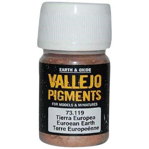 Paint: Vallejo - Pigments European Earth (30 ml)