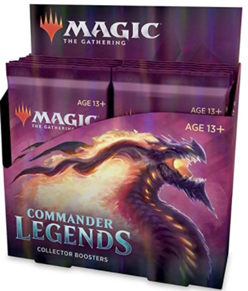 (Preorder) Magic The Gathering Sealed: Commander Legends - CMR Legends Collector Booster Display (12)