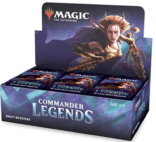 (Preorder) Magic The Gathering Sealed: Commander Legends - CMR Legends Draft Booster Display (24)