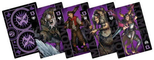(Preorder) Malifaux: Neverborn - Neverborn Fate Deck