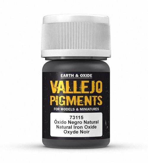 Paint: Vallejo - Pigments Natural Iron Oxide (30ml)