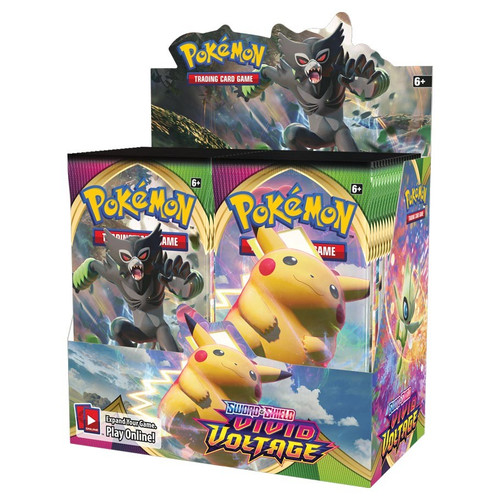 (Preorder) Pokemon TCG: Boosters and Booster Boxes - Pokemon TCG: Sword & Shield- Vivid Voltage: Booster Display (36)