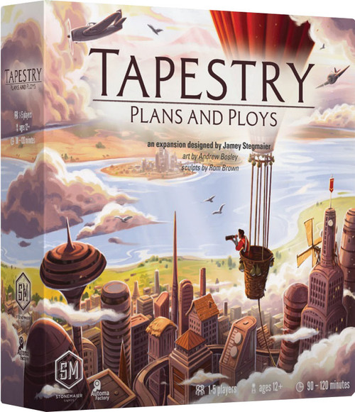 Board Games: Expansions and Upgrades - Tapestry: Plans and Ploys