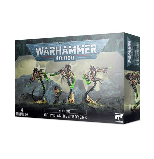 Warhammer 40K: Necrons - Ophydian Destroyers