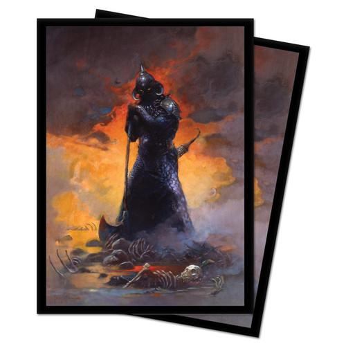 Card Sleeves: Other Printed Sleeves - Frank Frazetta Sleeves - Death Dealer III (100)