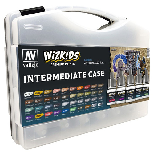 Paint: Vallejo - Paint Sets WizKids Premium Paints: Intermediate Case