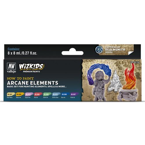 Paint: Vallejo - Paint Sets WizKids Premium Paints: Arcane Elements