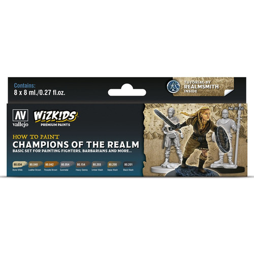 Paint: Vallejo - Paint Sets WizKids Premium Paints: Champions Of The Realm
