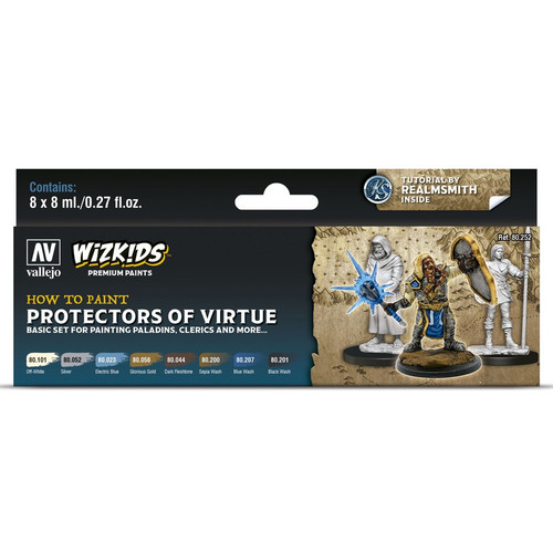 Paint: Vallejo - Paint Sets WizKids Premium Paints: Protectors Of Virtue