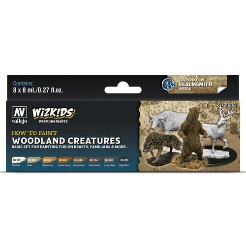 Paint: Vallejo - Paint Sets WizKids Premium Paints: Woodland Creatures