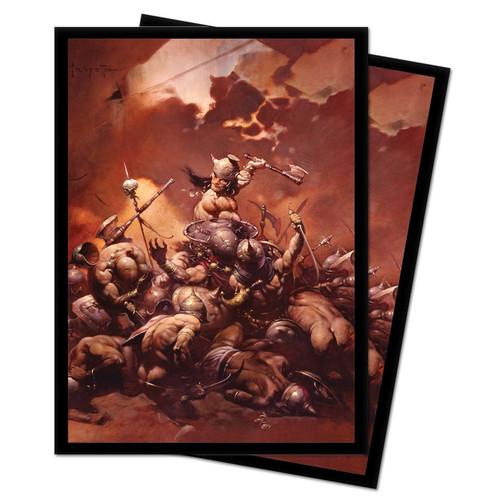 Card Sleeves: Frank Frazetta Sleeves - The Destroyer (100)